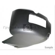 Угол бампера черный пластик прав SCANIA SC