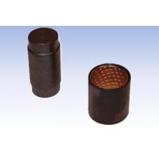 Рк торм колодки палец+ролик (с бронз втулкой) d=28 ROR