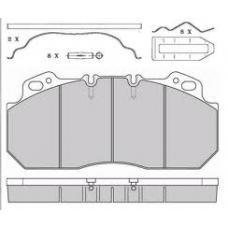 Колодки дисковые 29090 с р/к RVI AE385.420.520 7.95>,Volvo B10.12 95>,Lucas