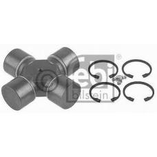 Крестовина кардана 52x147.2 со стопорами MAN F90/F2000 DAF F800-2700/65/75/85/95/105CF/XF