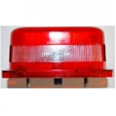 Фонарь освещения номерного знака Красная квадрат  MAN Scania