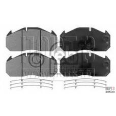 Колодки дисковые 29030 с пластинами250x118.3x28mm RVI AE 420T,MAN,Setra