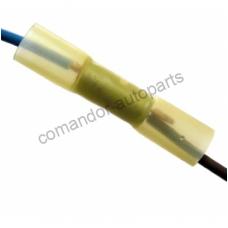 Контакт гильза желтая 4-6мм для соединения проводов В ТЕРМОУСАДКЕ DYBT-3 в упак.50шт