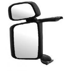 Зеркало большое левое двойное в сборе с электро приводом и подогревом Scania 4R (08.04-)