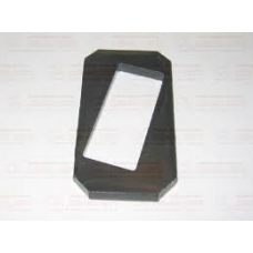 Стопорная пластина пальца рессоры рессора  104x57.5x8 BPW