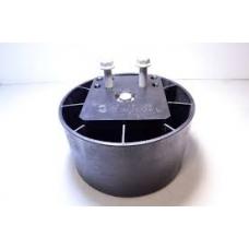 Стакан пневморессоры 881 h188 в сборе пластик BPW36 (Плита отдельно 0328075040)