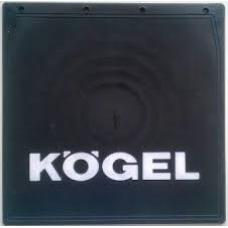 Брызговик резино-пластик 2шт 400х400 с логотипом  KOGEL