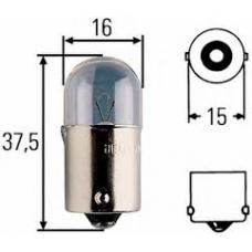 Лампа накаливания габариты R5W 24V 5W  габаритная средняя