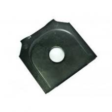 Пластина крепления полурессоры 70мм М30 120x125x5 BPW