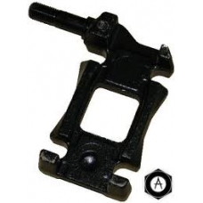 Кронштейн рессоры левый 70mm крепление под амортизатор рессора