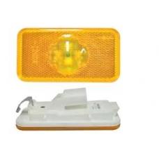 Фонарь габаритный без кабеля желтый прямоугольный LED 102x54 Volvo FH 12/16