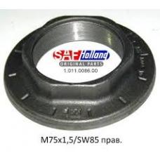 Гайка ступицы M75x1.5/SW85 правая резьба SAF