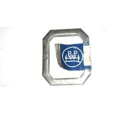 Пластина приварная кронштейна рессоры 72.5x60x12 BPW