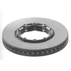 Диск тормозной вентилир 377x57.5 SAF SKRB 9019 (Колодки 29126)
