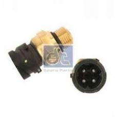 Датчик давления масла топлива воздуха в пневмопод 0-7 бар 4 контакта VOLVO FH/FM дв. D9B/12C/D/13A/16C