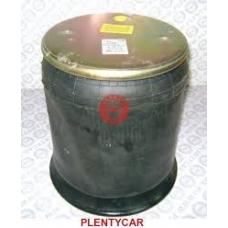 Пневмоподушка 4158NP03 с пласт2отв.M10 1отв-шт.M22  пластиковый стакан d13.5 Schmitz/Weweler