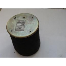 Пневмоподушка 4813NP07 со стак 4отв шп M10. 1отв.штуц.M14. Поршень стальн.4отв.M12 \Scania