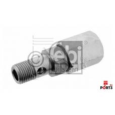 Клапан обратный M16x1.5 SW24 SW22 L=71.5 \MB Actros