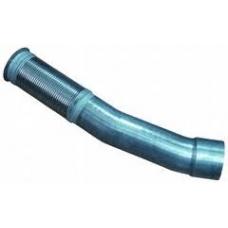 Труба глушителя (промежуточная) с гофрой плечи 390+370 D=130 MB Actros 950/952/954
