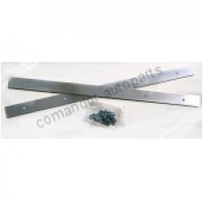 Планки 580 мм для крепления брызговиков к-т 2шт
