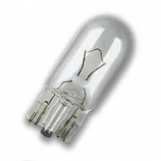 Лампа накаливания(безцокольная) 24V W2X4.6d W3W