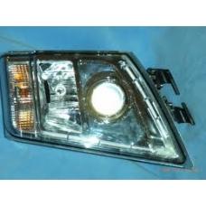 Фара головного света левая хромированная ручная регулировка Volvo FH13