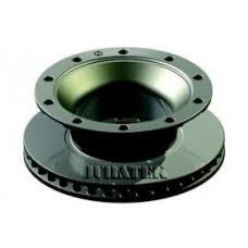 Диск торм 430/290x45/159.5 10n-335-23 вентилир без крепления ротора ABS BPW TSB4309