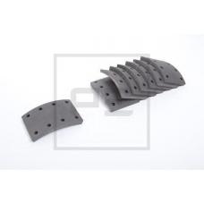 Накладки тормозные 17992 410x125 STD C ЗАКЛЕП (93680/L8.5 6.35x13.5 96) Volvo FL7.10 F12-25
