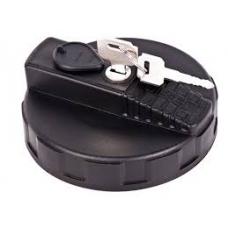 Крышка топл бака D 80мм с ключем пластик  RENAULT