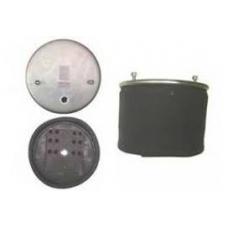 Пневмопод 4881NP02 со стак  металл  h320 2шп.M12смещ.25. 1штуц.M22. Нстакана 135. 8отв.M16 BPW-36K