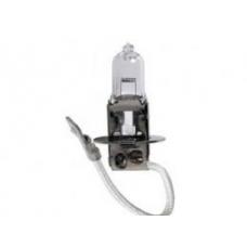 Лампа Н3 ЧЕРНАЯ для автомобильных фар 24V 70W PK22s стандарт\ DAF 95XF,MAN F90.M90 MB,Iveco,Volvo