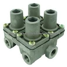 4-х контурный предохранительный клапан  7  6.7 bar  M22x1.5 M16x1.5 MB RVI DAF