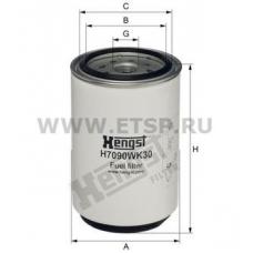Фильтр топливный сепаратор,подогрев отдель Volvo FH12 TD121/122. D7/12A, DAF F85/CF,95xF