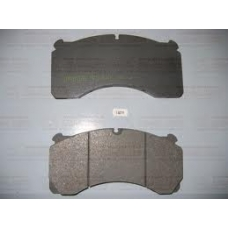 Колодки дисковые 29124 с пластинами Merritor DX195 205.4x102x27 ROR