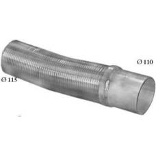 Гофра глушителя L=443 передняя d=110 мм MAN TGA/TGS/TGX