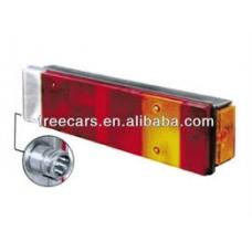 Фонарь задний многосекц правый с отраж и габар огнем фишка с боку DIN LC7 \DAF 65-95 MAN F/L/M