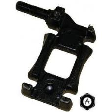 Кронштейн рессоры правый 70mm крепление под амортизатор рессора