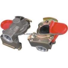 Соединительная головка КРАСНАЯ M22x1.5 без клапана на прицеп