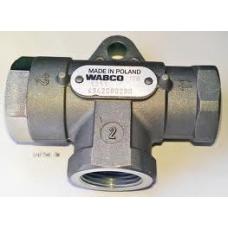 Клапан двухмагистральный 10бар М22x1.5 MB BPW IVECO
