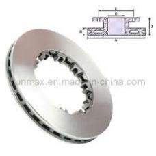 Диск тормозной DAF CF65/CF75/CF85/XF95 c монт копл 1393560 вентилир (432x45/37x45 10n)