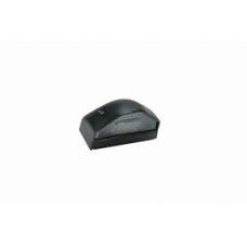 Фонарь освещения номерного знака LED черный 3 диода