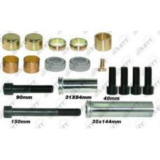 Рк дискового тормоза направляющих втулок и уплотнений RVI Premium/Magnum MAN TGA ROR