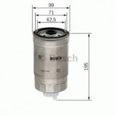 Фильтр топливный M14x1.5 D99 H195 Iveco Stralis ET/ES/Cursor 440E42