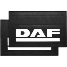 Брызговик резино-пластик 2шт 520x330 с логотипом задний  DAF