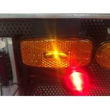 Фонарь габаритный LED 74.3731-01 ЖЕЛТЫЙ (ан.ГФ1-25) с КРОНШТЕЙНОМ под разъем