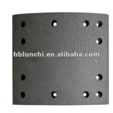 Накладки тормозные 19036 419x178 STD 12отверстий закл-93685 L10 6.35x1.9  Frue/ROR/SAF/Trailor/York