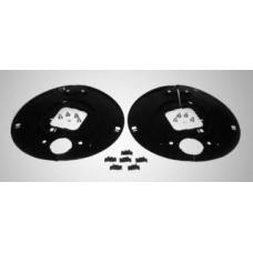 Комплект щитков пылезащитных на ось кв.балка 120 SN4218-2 16град BPW H.. 8-9т до <95