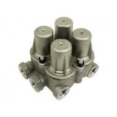 4-х контурный предохранительный клапан  6.3 bar M22x1.5 M16x1.5 Volvo FH/FM7/12  B7L