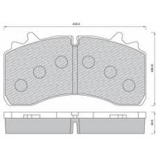Колодки дисковые 29162 с р/к 22.5' SAF SKRB 9022WI Wabco Integral